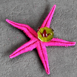 Fleur de bordeau - vue d'ensemble de la bague